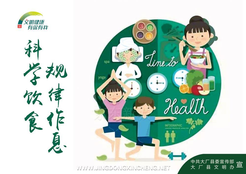 【文明健康-有你有我】规律作息-科学饮食.jpg